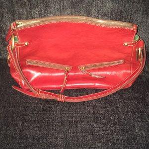 Florentine red Dooney Bourke purse